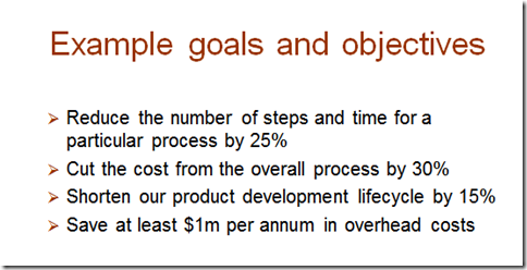 Business process improvementdetermining goals and objectives bpm blog courtesy harvard computing group process improvement webinar accmission Image collections