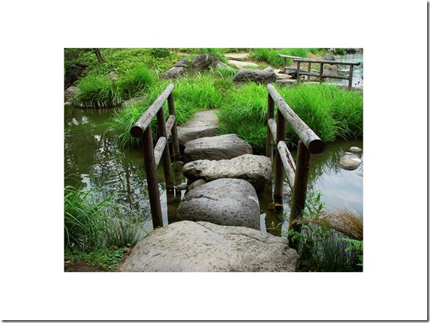 Stepping stones one way