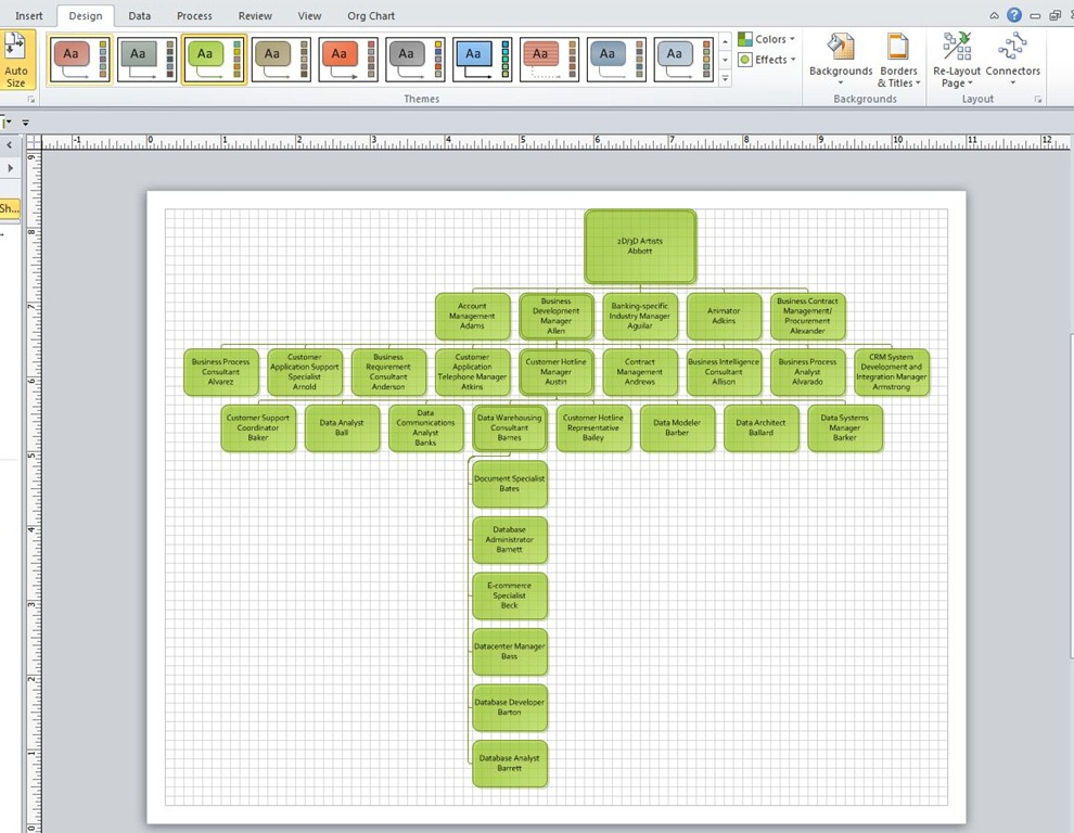 create a visio org chart build an organization chart in